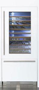 Fhiaba Side by Side Weinkühlschrank - Freezer Integrated S8991TWT