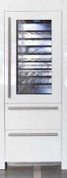 Fhiaba Side by Side Weinkühlschrank - Freezer Integrated S7490HWT