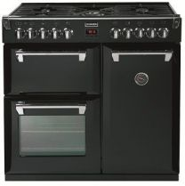 STOVES Herd  Richmond  90 cm Induction - Standard Schwarz