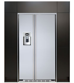 Flachen Bündige Einbau Side by Side Kühlschrank